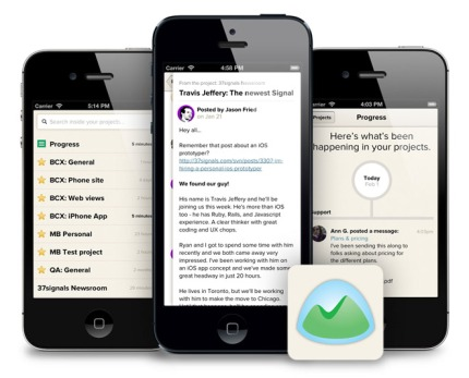 Basecamp iPhone App